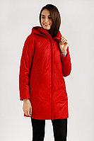 Полупальто женское Finn Flare, цвет малиновый, размер 2XL