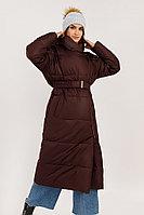 Пальто женское Finn Flare, цвет вишневый, размер XS/S