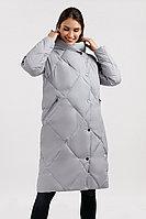 Пальто женское Finn Flare, цвет серый шелк , размер 5XL