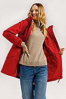 Куртка женская Finn Flare, цвет малиновый, размер 2XL