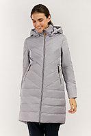 Пальто женское Finn Flare, цвет серый шелк , размер 2XL