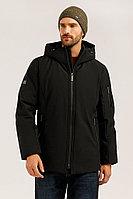 Полупальто мужское Finn Flare, цвет черный, размер XL