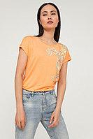 Футболка женская Finn Flare, цвет marigold (оранжевый), размер S