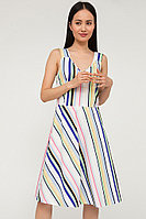 Платье женское Finn Flare, цвет бирюзовый, размер XL