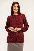 Блузка женская Finn Flare, цвет вишневый, размер S