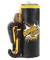 Набор для бокса E1454, к/з, черный, в сетке Effort