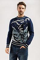 Джемпер мужской Finn Flare, цвет темно-синий, размер 2XL
