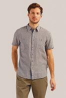 Рубашка мужская Finn Flare, цвет серый, размер M