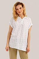 Блузка женская Finn Flare, цвет белый, размер XS