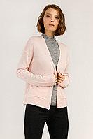 Кардиган женский Finn Flare, цвет светло-розовый, размер 2XL