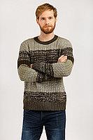 Джемпер мужской Finn Flare, цвет темно-коричневый, размер L