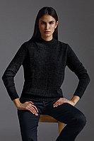 Джемпер женский Finn Flare, цвет темно-серый, размер M