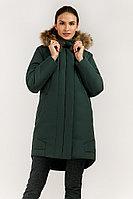 Куртка женская Finn Flare, цвет темно-зеленый, размер 3XL