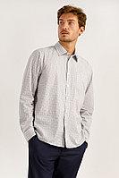 Рубашка мужская Finn Flare, цвет светло-серый, размер 2XL