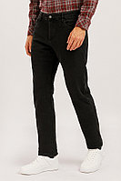Джинсы мужские Finn Flare, цвет черный, размер W34L36