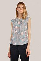 Блузка женская Finn Flare, цвет светло-серый, размер 2XL