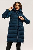 Пальто женское Finn Flare, цвет темно-синий, размер 2XL