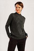 Джемпер женский Finn Flare, цвет темно-серый, размер L