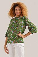 Блузка женская Finn Flare, цвет cactus (зеленый), размер L