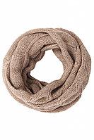 Шарф женский Finn Flare, цвет светло-коричневый, размер