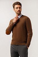Джемпер мужской Finn Flare, цвет каштановый, размер L