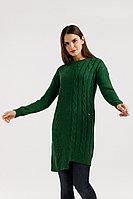 Платье женское Finn Flare, цвет темно-зеленый, размер XS