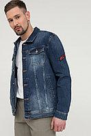 Куртка джинсовая мужская Finn Flare, цвет синий, размер L