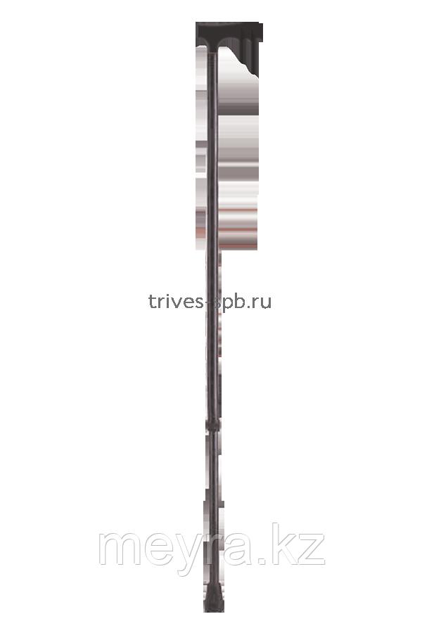 Трость телескопическая с Т-образной ручкой, цвет черный
