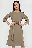 Платье женское Finn Flare, цвет светло-коричневый, размер L