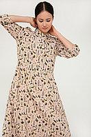 Платье женское Finn Flare, цвет бледно-розовый, размер XL