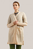 Кардиган женский Finn Flare, цвет серый, размер L