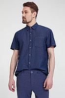Рубашка мужская Finn Flare, цвет темно-синий, размер M
