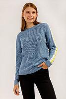 Джемпер женский Finn Flare, цвет серо-голубой, размер 2XS