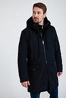 Пальто мужское Finn Flare, цвет темно-синий, размер 2XL