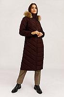 Пальто женское Finn Flare, цвет вишневый, размер 2XL