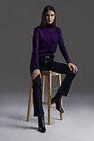 Джемпер женский Finn Flare, цвет фиолетовый, размер S