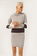 Платье женское Finn Flare, цвет светло-серый, размер S