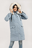 Пальто женское Finn Flare, цвет серо-голубой, размер L