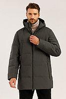Полупальто мужское Finn Flare, цвет темно-серый, размер 2XL