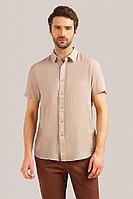 Рубашка мужская Finn Flare, цвет светло бежевый, размер 2XL