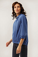 Блузка женская Finn Flare, цвет синий, размер XS