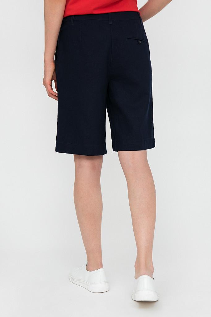 Шорты женские Finn Flare, цвет темно-синий, размер XS - фото 4