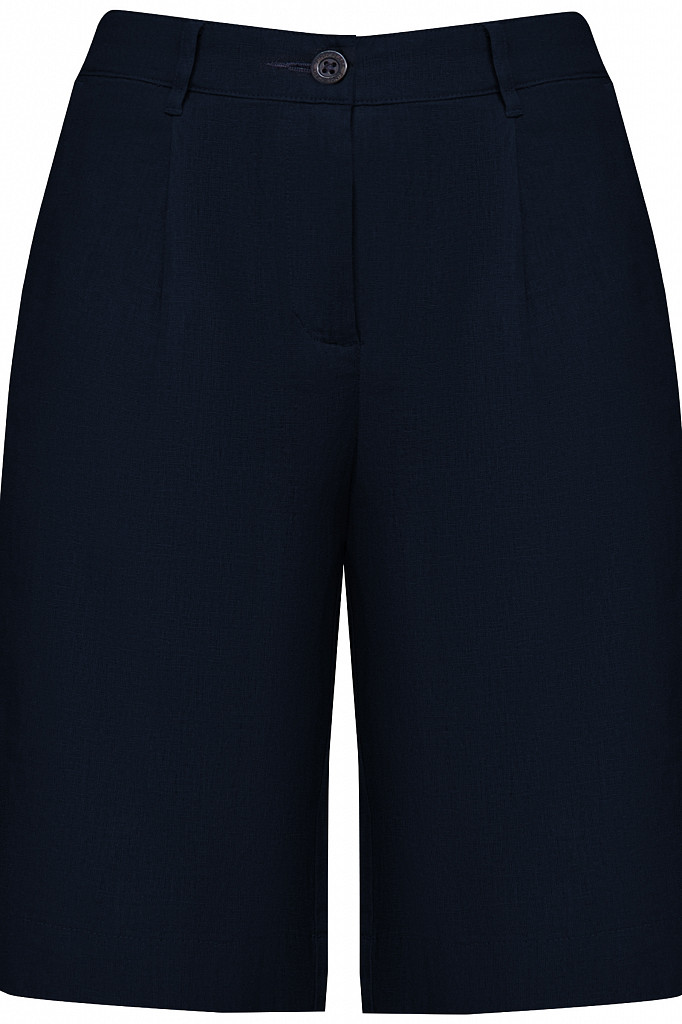 Шорты женские Finn Flare, цвет темно-синий, размер XS - фото 6