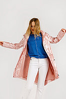 Плащ женский Finn Flare, цвет розовый, размер 2XL