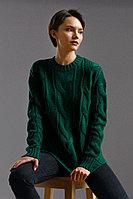 Джемпер женский Finn Flare, цвет темно-зеленый, размер L