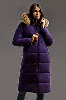 Пальто женское Finn Flare, цвет фиолетовый, размер XL
