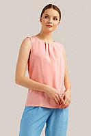 Блузка женская Finn Flare, цвет розовый, размер 2XL