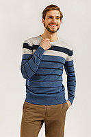 Джемпер мужской Finn Flare, цвет голубой, размер 2XL