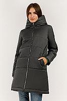 Пальто женское Finn Flare, цвет темно-серый, размер 5XL