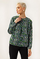 Блузка женская Finn Flare, цвет зеленый, размер 2XL